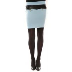 Textiel Dames Rokken Nina Rocca Jupe J.X Fashion Bleu Blauw