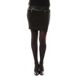 Textiel Dames Rokken Nina Rocca Jupe J.X Fashion Noir Zwart
