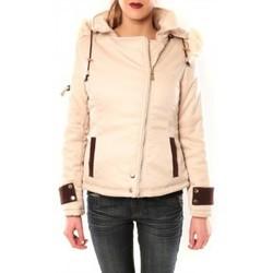 Textiel Dames Wind jackets Sweet Company Blouson Flamant Rose 8A161 Beige Beige