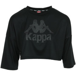 Textiel Dames Tops / Blousjes Kappa Authentic Anak Zwart