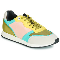 Schoenen Dames Lage sneakers MTNG HANNA Roze / Geel / Turquoize