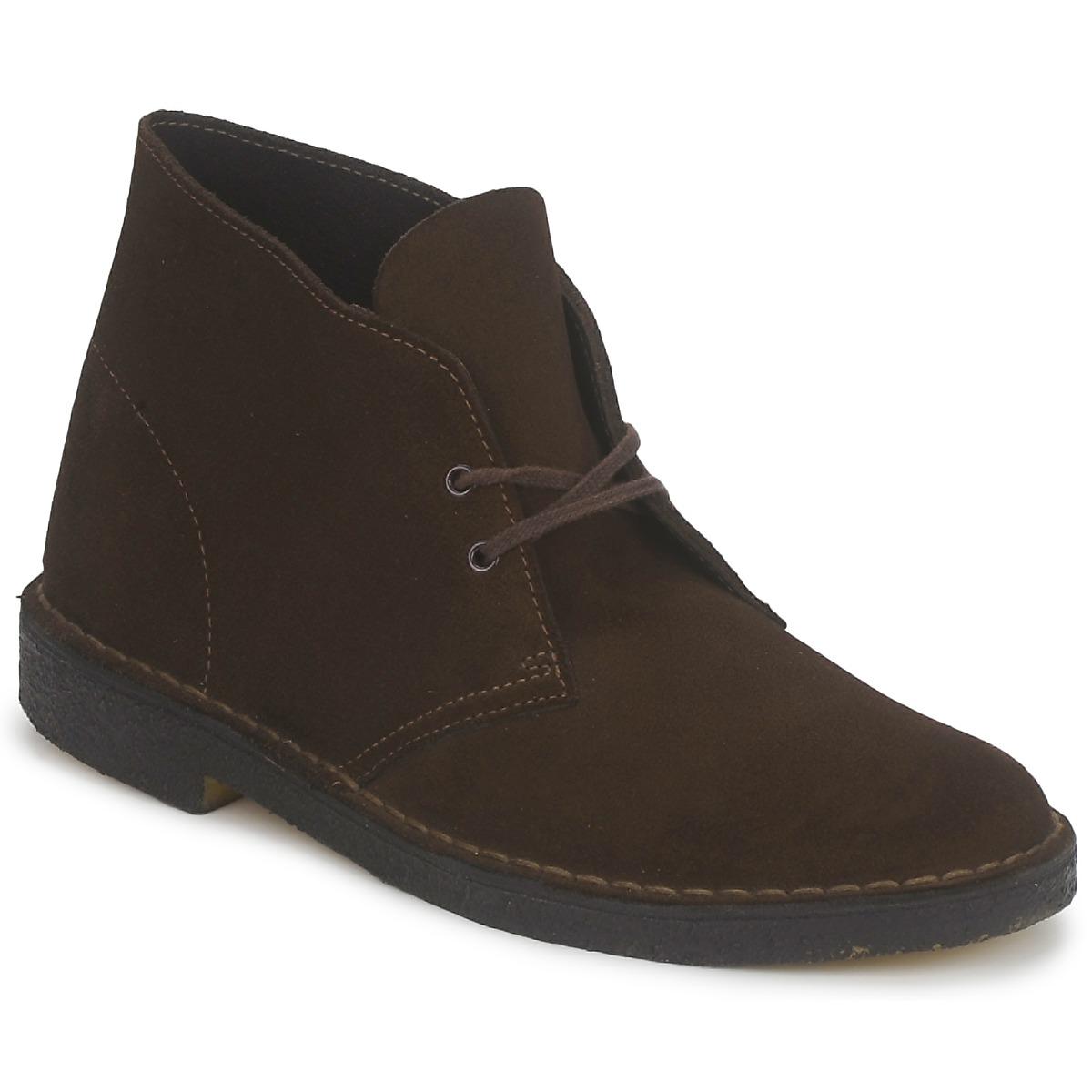 Clarks Desert Boot Dames Bruin