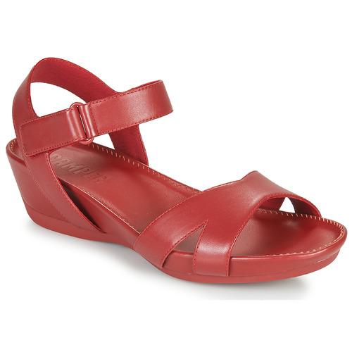 Schoenen Dames Sandalen / Open schoenen Camper Micro Rood