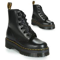 Schoenen Dames Laarzen Dr Martens Molly Zwart