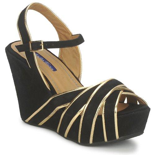 Schoenen Dames Sandalen / Open schoenen Atelier Voisin FACTOR Zwart