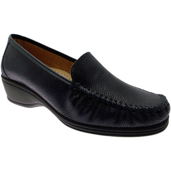 Schoenen Dames Mocassins Calzaturificio Loren LOK3979bl blu