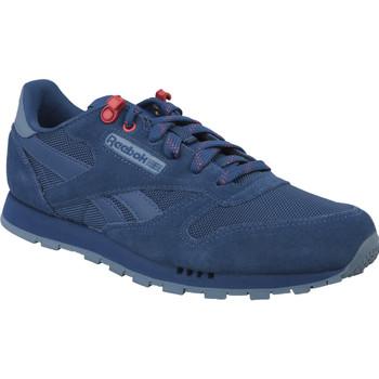 Schoenen Jongens Lage sneakers Reebok Sport Classic Leather Bleu