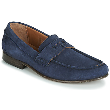 Schoenen Heren Mocassins Hudson SEINE Blauw
