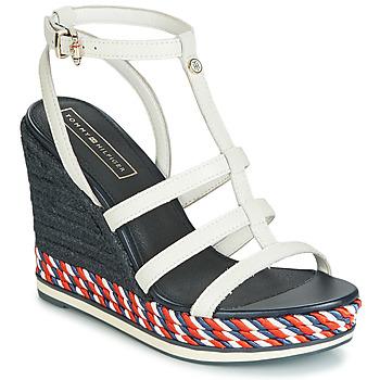 Schoenen Dames Sandalen / Open schoenen Tommy Hilfiger VANCOUVER 7A Wit