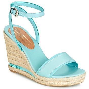 Schoenen Dames Sandalen / Open schoenen Tommy Hilfiger ELENA 78C Blauw