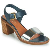 Schoenen Dames Sandalen / Open schoenen Casual Attitude JALAYEVE Blauw / Zilver