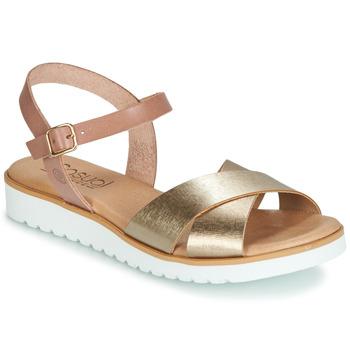 Schoenen Dames Sandalen / Open schoenen Casual Attitude JALAYEDE Roze / Goud