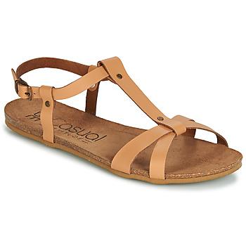 Schoenen Dames Sandalen / Open schoenen Casual Attitude JALIYAXE Camel