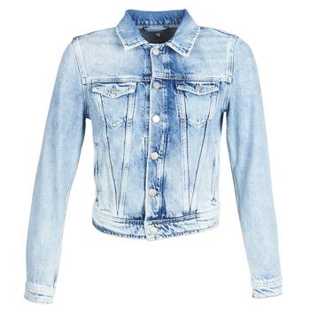Textiel Dames Spijker jassen Pepe jeans CORE Blauw / Clair / Md0