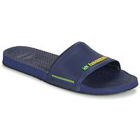 Schoenen Heren slippers Havaianas SLIDE BRASIL Marine