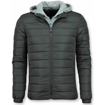 Textiel Heren Dons gevoerde jassen Enos erjas Mannen - Zwarte Winterjas - Heren Jacks 38