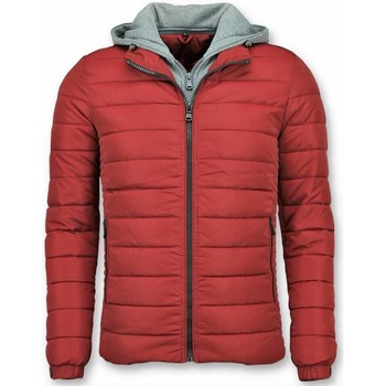 Textiel Heren Dons gevoerde jassen Enos Heren Jassen - Winterjas Mannen - Rode Winterjas - Heren Jacks 8