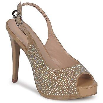 Schoenen Dames Sandalen / Open schoenen Carmen Steffens NIMEA Bruin