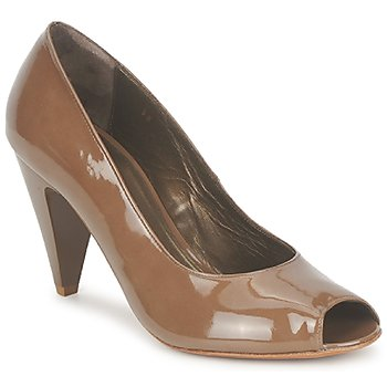 Schoenen Dames pumps Espace LEON Bruin