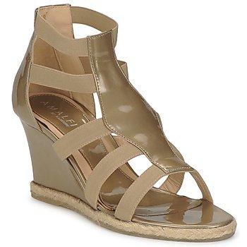 Schoenen Dames Sandalen / Open schoenen Amalfi by Rangoni LEMA Lak / Taupe
