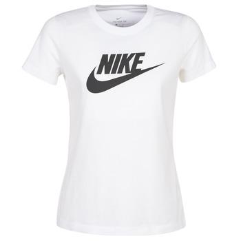 Textiel Dames T-shirts korte mouwen Nike NIKE SPORTSWEAR Wit