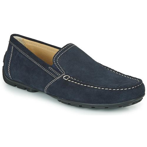 Schoenen Heren Mocassins Geox MONET Blauw