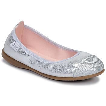 Schoenen Meisjes Ballerina's Citrouille et Compagnie JARAMIL Zilver