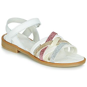 Schoenen Meisjes Sandalen / Open schoenen Citrouille et Compagnie JARILOU Wit