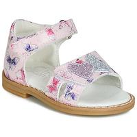 Schoenen Meisjes Sandalen / Open schoenen Citrouille et Compagnie JARILOUTE Roze