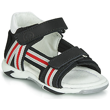 Schoenen Jongens Sandalen / Open schoenen Citrouille et Compagnie JATILETTE Zwart
