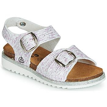Schoenen Meisjes Sandalen / Open schoenen Citrouille et Compagnie JANETTA Wit / Violet