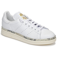 Schoenen Dames Lage sneakers adidas Originals STAN SMITH NEW BOLD Wit