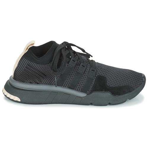 adidas Originals EQT SUPPORT MID ADV Zwart - Gratis levering  Schoenen Lage sneakers Heren