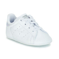 Schoenen Meisjes Lage sneakers adidas Originals STAN SMITH CRIB Wit