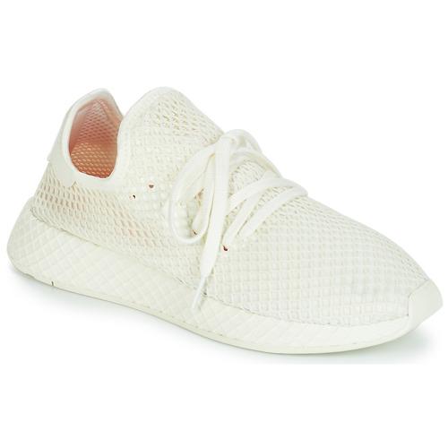 Schoenen Lage sneakers adidas Originals DEERUPT RUNNER Wit