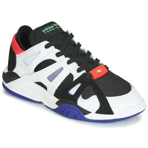 Schoenen Heren Lage sneakers adidas Originals DIMENSION LO Wit / Zwart