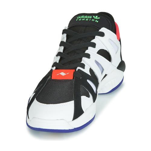 Schoenen KJKHGDsdgjdiJKJHM  adidas Originals DIMENSION LO Wit / Zwart