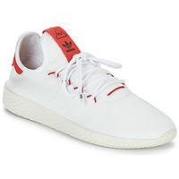 Schoenen Lage sneakers adidas Originals PW TENNIS HU Wit / Rood