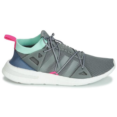 Adidas Originals Arkyn W Wit / Blauw - Gratis Levering Schoenen Lage Sneakers Dames 10396