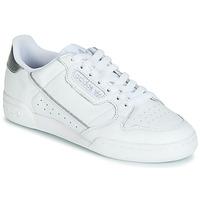 Schoenen Dames Lage sneakers adidas Originals CONTINENTAL 80s Wit / Zilver
