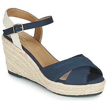 Schoenen Dames Sandalen / Open schoenen Tom Tailor  Marine