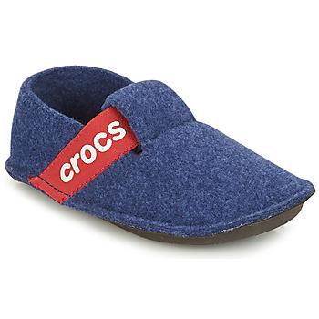 Schoenen Kinderen Sloffen Crocs CLASSIC SLIPPER K Blauw