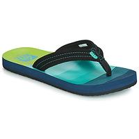 Schoenen Jongens Teenslippers Reef KIDS AHI Blauw / Groen