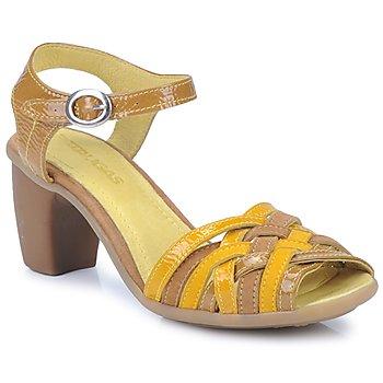Schoenen Dames Sandalen / Open schoenen Pataugas FANNY Geel