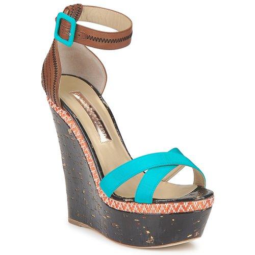 Schoenen Dames Sandalen / Open schoenen Rupert Sanderson NISSA Blauw