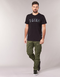 Textiel Heren Cargobroek G-Star Raw ROVIC ZIP 3D STRAIGHT TAPERED Kaki