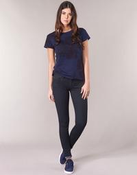 Textiel Dames Skinny Jeans G-Star Raw LYNN D-MID SUPER SKINNY Blauw