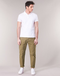 Textiel Heren Chino's G-Star Raw BRONSON STRAIGHT TAPERED CHINO Beige
