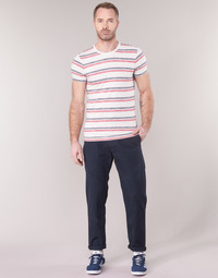 Textiel Heren Chino's G-Star Raw BRONSON STRAIGHT TAPERED CHINO Marine