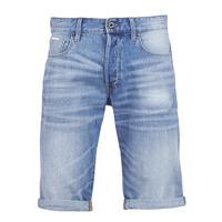 Textiel Heren Korte broeken / Bermuda's G-Star Raw 3302 12 Blauw / Light / Vintage